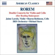 Sharon Robinson: Rorem: Double Concerto / After Reading Shakespeare - CD