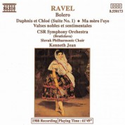 Kenneth Jean: Ravel: Bolero / Daphnis Et Chloe Suite No. 1 / Ma Mere L'Oye - CD