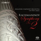 Singapore Symphony Orchestra, Lan Shui: Rachmaninov: Symphony No. 2, Vocalise (orchestral arrangement) - SACD