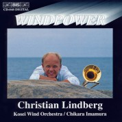 Christian Lindberg, Kosei Wind Orchestra, Chikara Imamura: Windpower - Christian Lindberg and Kosei Wind Orchestra - CD