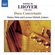 Matteo Mela: Lhoyer: 3 Duo Concertants, Op. 31 / Duo Concertant, Op. 34, No. 2 - CD