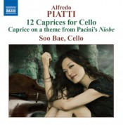 Soo Bae: Piatti: Caprices for Solo Cello - CD
