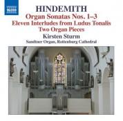 Kirsten Sturm: Hindemith: Works for Organ - CD