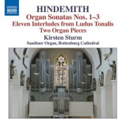 Kirsten Sturm: Hindemith: Works for Organ - CD