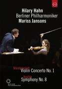 Hilary Hahn, Berliner Philharmoniker, Mariss Jansons: The Berliner Philharmoniker in Tokyo - Concert at the Suntory Hall (Shostakovich: Violin Conc. No. 1 / Dvorak: Sym. No. 8) - DVD