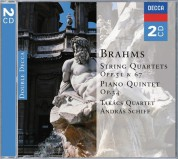 András Schiff, Takács Quartet: Brahms: String Quartets, Opp.51 & 67 - CD
