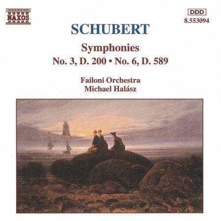 Schubert: Symphonies Nos. 3 and 6 - CD