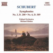 Schubert: Symphonies Nos. 3 and 6 - CD
