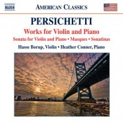 Hasse Borup, Heather Conner: Persichetti: Works for Violin & Piano - CD