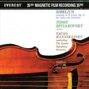 Tossy Spivakovsky, Tauno Hannikainen, London Symphony Orchestra: Sibelius: Concerto in D minor, Op. 47 - Plak