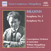 Brahms: Symphonies Nos. 2 and 4 (Mengelberg) (1941) - CD