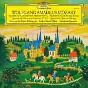 Amadeus Quartet, Lothar Koch, Gervase de Peyer: Mozart: Clarinet Quintet, Oboe Quartet - Plak