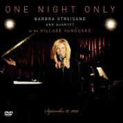 Barbra Streisand: One Night Only:Live At Village Vanguard - CD