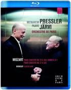 Menahem Pressler, Orchestre de Paris, Paavo Järvi: Mozart: Piano Concertos Nos. 23 & 27 - Rondo - BluRay