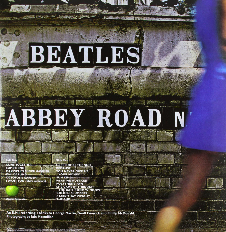 Polythene pam she came in through the bathroom window - Abbey Road Plak Abbey Road Plak