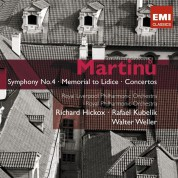 Martinu: Symphony No.4, Memorial to Licide, Concertos - CD