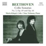 Beethoven: Cello Sonatas No. 3, Op. 69 and Op. 64 - CD
