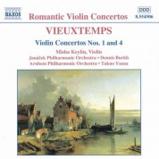 Misha Keylin: Vieuxtemps: Violin Concertos Nos. 1 and 4 - CD