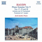 Haydn: Piano Sonatas Nos. 17, 19 and 28 / Arietta Con 12 Variazioni - CD