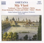 Antoni Wit: Smetana: Ma Vlast (My Country) - CD