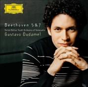 Gustavo Dudamel, Simón Bolívar Youth Orchestra of Venezuela: Beethoven: Symphonien Nos. 5+7 - CD