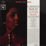 Carmen McRae: Lover Man & Other Billie Holiday Classics - Plak