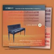 Miklós Spányi, Opus X Ensemble, Petri Tapio Mattson: C.P.E. Bach: Keyboard Concertos / Solo Keyboard Music, Vol.15 - CD