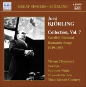 Jussi Bjorling: Bjorling, Jussi: Bjorling Collection, Vol. 7: Swedish National Romantic Songs (1929-1953) - CD