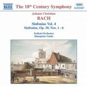 Bach, J.C.: Sinfonias, Vol.  4 - CD