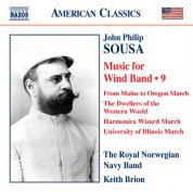 Keith Brion: Sousa: Music for Wind Band, Vol. 9 - CD