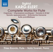 Thies Roorda, Nata Tsvereli: Karg-Elert: Complete Works for Flute - CD