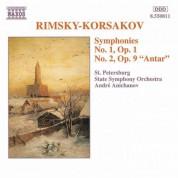 Rimsky-Korsakov: Symphonies Nos. 1 and 2 - CD