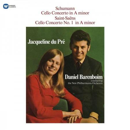 Jacqueline du Pré, Daniel Barenboim, The New Philharmonia Orchestra: Schumann, Saint-Seans, Cello Concerto - Plak
