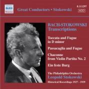 Leopold Stokowski: Bach, J.S.: Stokowski Transcriptions, Vol. 1 (Stokowski) (1927-1939) - CD