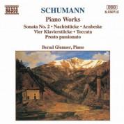 Schumann, R.: Piano Sonata No. 2 / Nachtstucke / Arabeske - CD