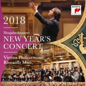 Riccardo Muti, Wiener Philharmoniker: NEW YEAR'S CONCERT 2018 - CD