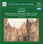 Verdi: Falstaff (La Scala) (1932) - CD