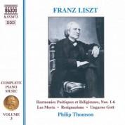 Liszt: Harmonies Poetiques Et Religieuses Nos. 1-6 - CD