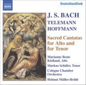 Bach, J.S. / Hoffmann / Telemann: Alto and Tenor Cantatas, Bwv 35, 55, 160, 189 - CD