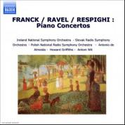 Franck / Ravel / Respighi : Piano Concertos - CD