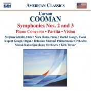 Cooman: Symphonies Nos. 2 and 3 / Violin Sonata - CD