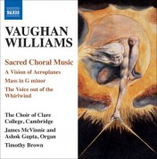 Cambridge Clare College Choir: Vaughan Williams, R.: Sacred Choral Music - CD