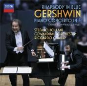 Gewandhausorchester Leipzig, Riccardo Chailly, Stefano Bollani: Gershwin: Piano Concerto - CD