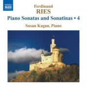 Susan Kagan: Ries: Complete Piano Sonatas and Sonatinas, Vol. 4 - CD
