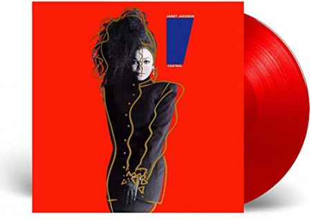 Janet Jackson: Control (Limited Edition - Red Vinyl) - Plak