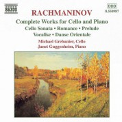 Rachmaninov: Works for Cello and Piano (Complete) - CD