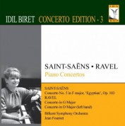 İdil Biret: Saint-Saens, C.: Piano Concerto No. 5 / Ravel, M.: Piano Concerto in G Major / Piano Concerto for the Left Hand - CD