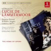 Natalie Dessay, Roberto Alagna, Ludovic Tezier, Evelino Pido, Orchestre de l'Opera National de Lyon: Donizetti: Lucie de Lammermoor (vers. in French) - CD