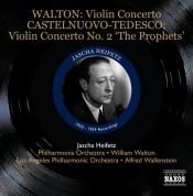 Jascha Heifetz: Walton: Violin Concerto - Castelnuovo-Tedesco: Violin Concerto No. 2, 'The Prophets' - CD