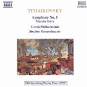 Slovak Philharmonic Orchestra: Tchaikovsky: Symphony No. 5 / Marche Slave (Slavonic March) - CD
